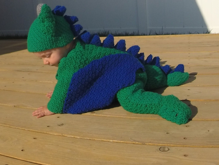 The Baby Dragon Crochet Costume Pattern PDF Amigurumi style costume for babies Dragoncon Comicon geek costumes Game of Thrones Dragons