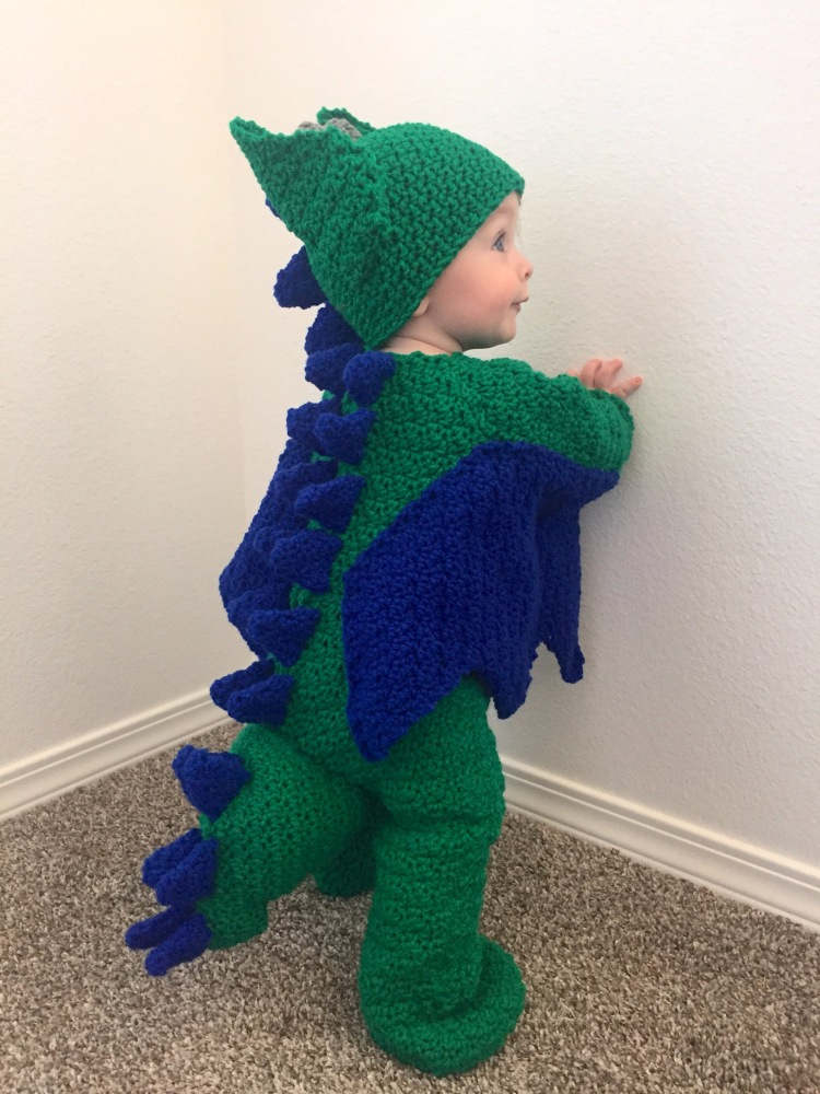 Dragon costume Baby Dragon costume for babies and toddlers comicon dragoncon amigurumi style costume halloween